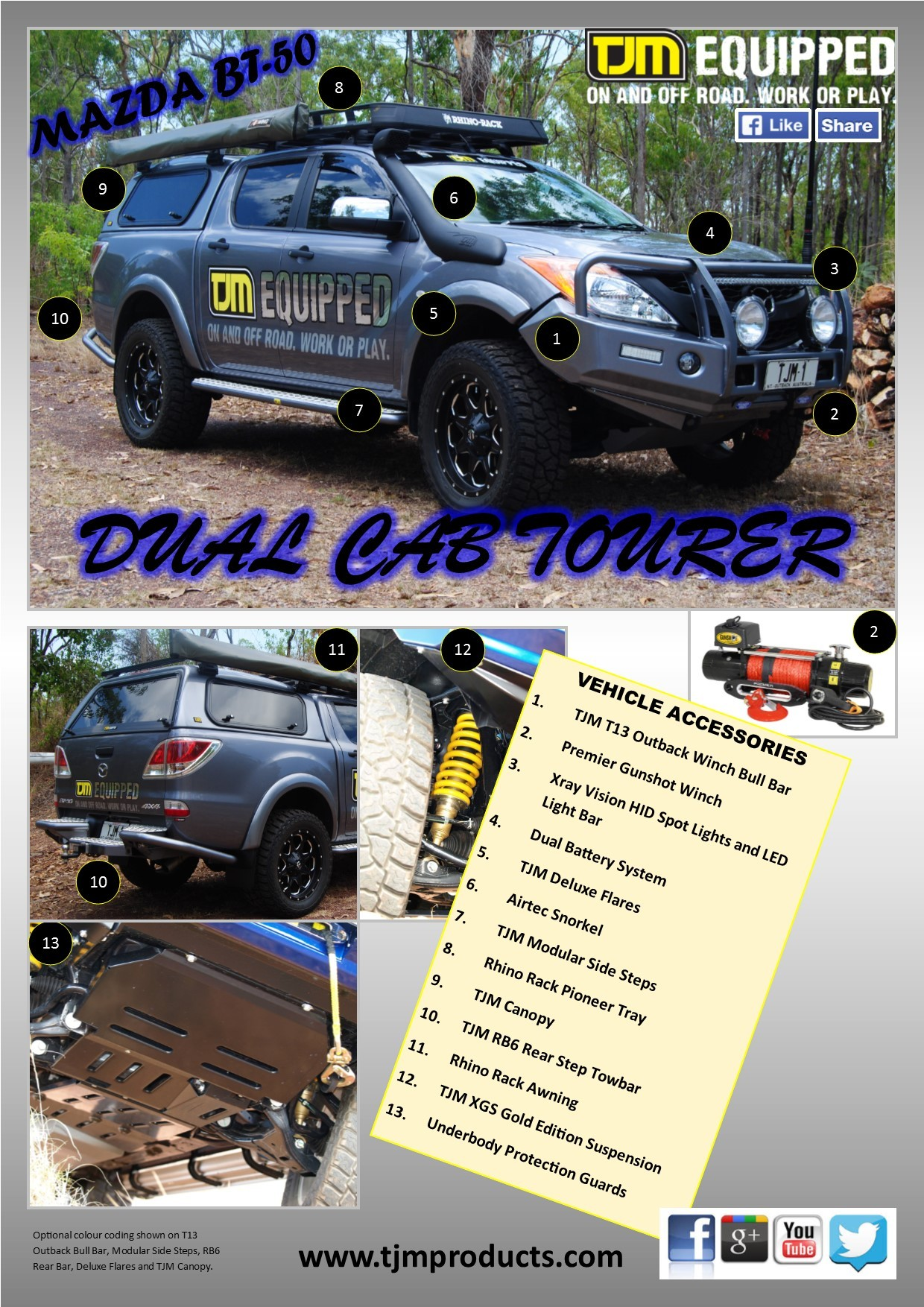 Our-Brochures - 4WD Accessories - TJM Cairns, Townsville