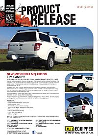 TJM Canopies Available Now  sc 1 st  TJM Products - Cairns Townsville Mackay Mt Isa Darwin & MQ TRITON CANOPY - TJM Products NQ