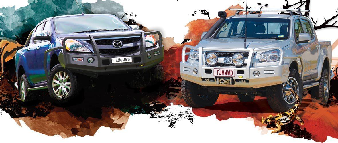 Bullbars - 4WD Accessories - TJM Cairns, Townsville, Mackay