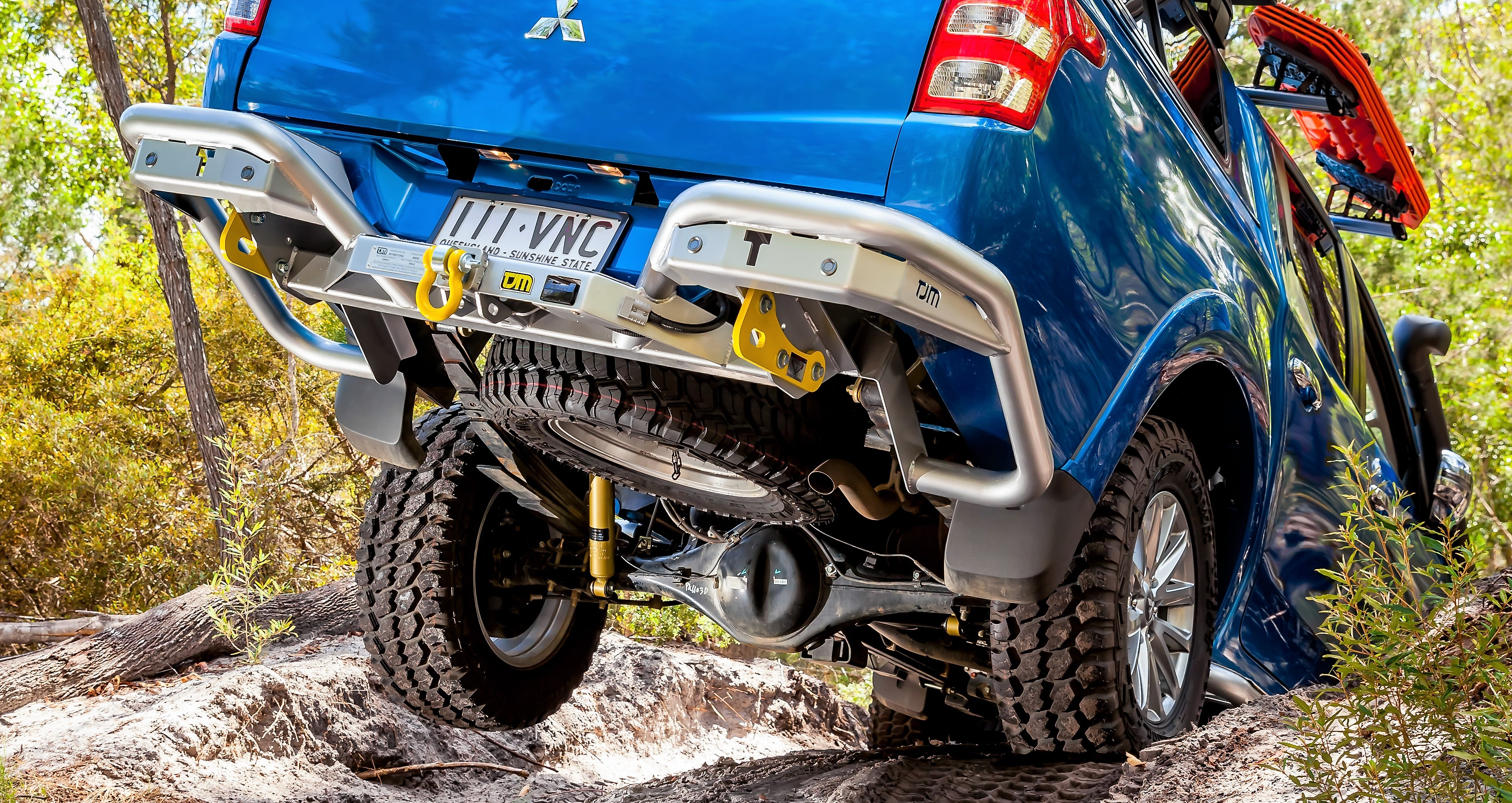 Rear Protection Bars Amp Towbars 4wd Accessories Tjm